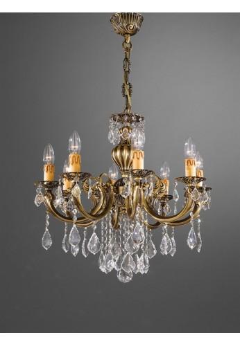OFERTA SPECIALA!!! CANDELABRU EXTRAVAGANT 1045 LA LAMPADA DE LUX CRISTAL REALIZAT MANUAL