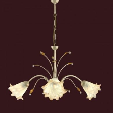 LUSTRA DIN METAL SI STICLA TRILLY PADANA LAMPADARI 486/3