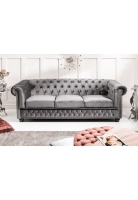 CANAPEA CHESTERFIELD, 205CM, COD 40482, CATIFEA, DESIGN CLASIC
