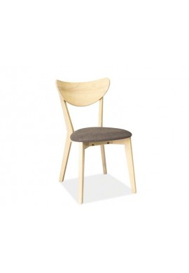 SCAUN CD- 37 LEMN SI STOFA - DESIGN SCANDINAV