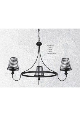CANDELABRU GUARDA 798E/1 + ALDEX