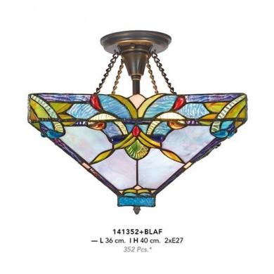 PLAFONIERA TIFFANY - 141352+BLAF