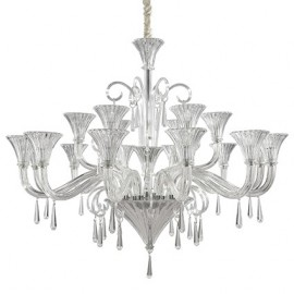 CANDELABRU DESIGN MODERN SANTA SP18 TRANSPARENT