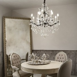 CANDELABRU DESIGN CLASIC LIBERTY SP12 TRANSPARENT