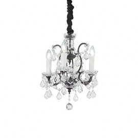 CANDELABRU DESIGN RUSTIC LIBERTY SP4 TRANSPARENT