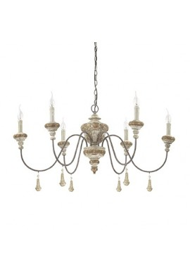 CANDELABRU DESIGN RUSTIC PRELUCRAT MANUAL EDITH SP6