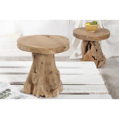 TABURETE/MASUTA DE CAFEA ROOT 37139 - DESIGN RUSTIC